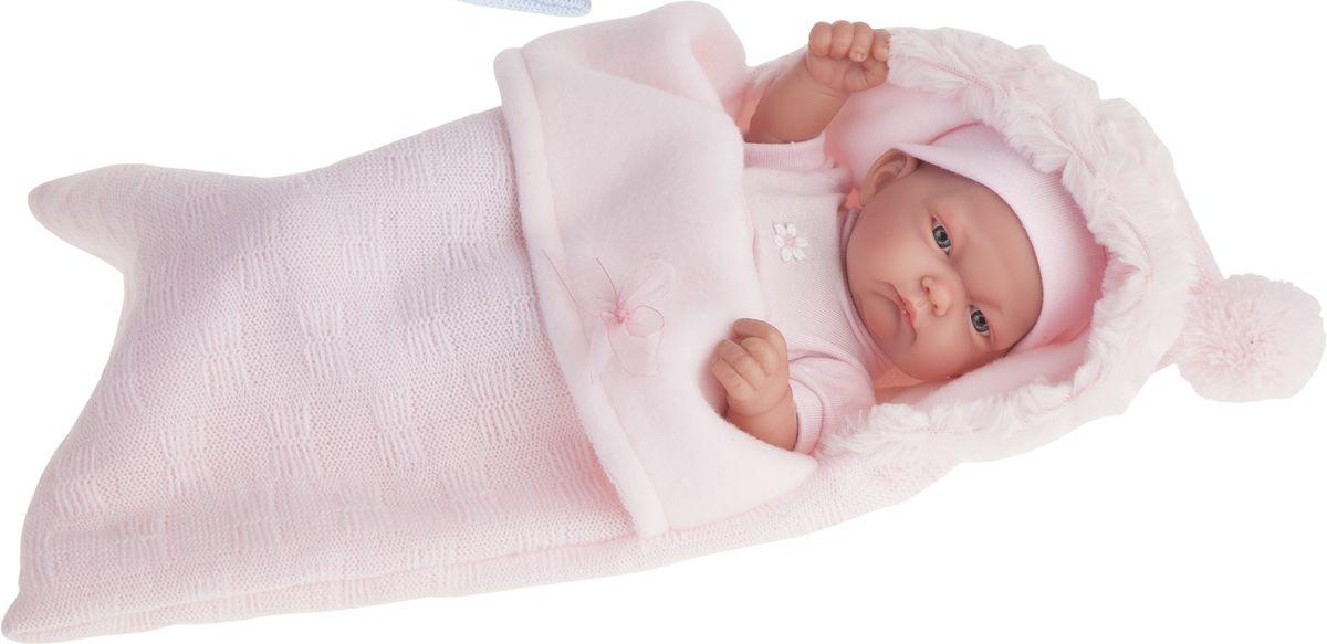 Juan Antonio Пупс Карла в розовом конверте juan antonio кукла младенец карла в чемодане цвет одежды розовый