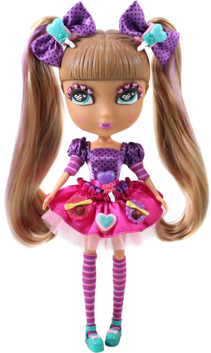 Jada Dolls Игровой набор с куклой Кьюти Попс Делюкс Кармель с аксессуарами куклы jada набор кьюти попс делюкс кукла стар с собачкой