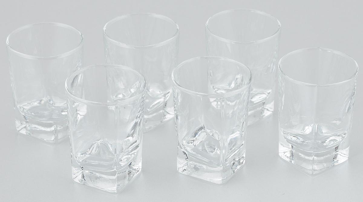 Набор стопок Pasabahce Baltic, 60 мл, 6 шт41270BНабор Pasabahce Baltic состоит из 6 стопок, выполненных из закаленного натрий-кальций-силикатного стекла. Изделия прекрасно подойдут для подачи крепких алкогольных напитков. Набор стопок Pasabahce Baltic украсит ваш стол и станет отличным подарком к любому празднику. Высота стопки: 7 см.