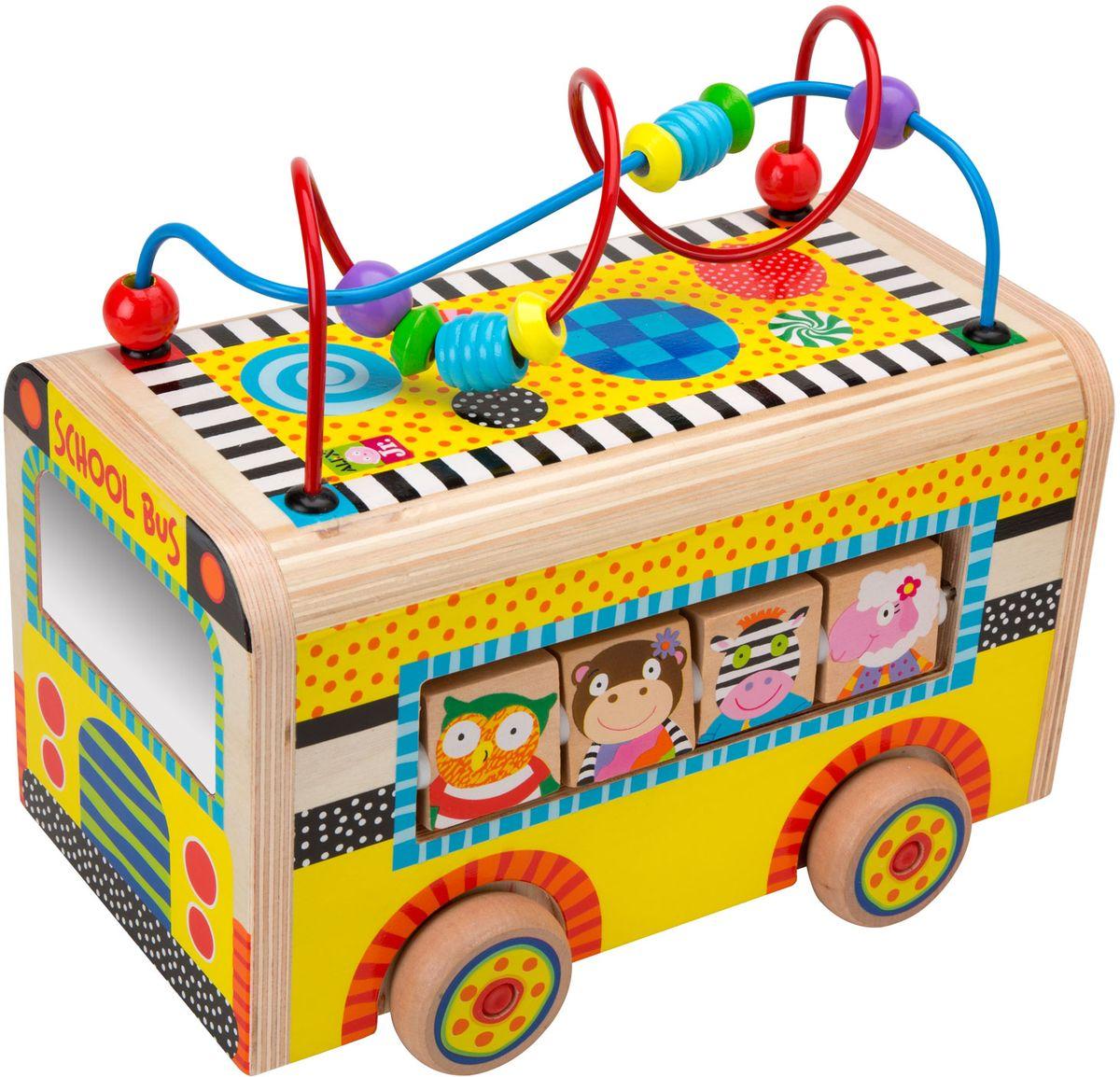 Alex Развивающий центр Веселый автобус 1997 bestway развивающий центр машина с шариками