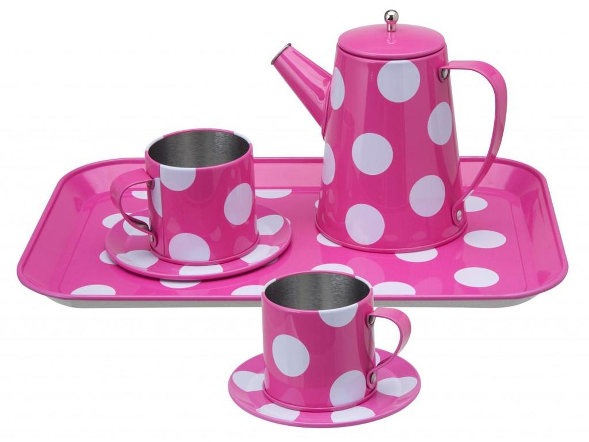 Alex Игровой набор посуды Чайный набор alex игровой набор посуды чайный сервиз весна 16 предметов