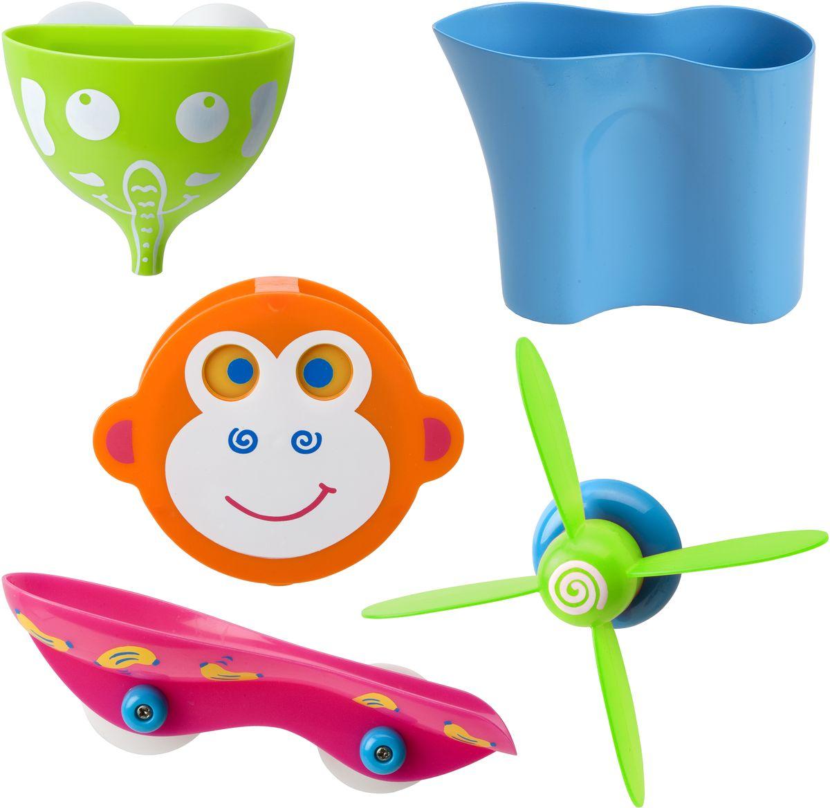 Alex Набор игрушек для ванной Водопад в джунглях