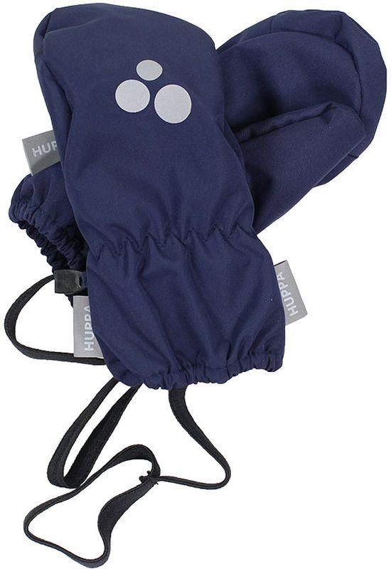 Варежки детские Huppa Kim, цвет: темно-синий. 8101BASE-00086. Размер 5 брюки утепленные детские huppa freja 1 цвет темно синий 21700116 00086 размер 170