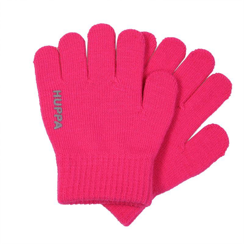 Перчатки детские Huppa Levi, цвет: фуксия. 82050000-00063. Размер 282050000-00063Детские перчатки изготовлены из натурального акрила. Манжеты связаны резинкой.