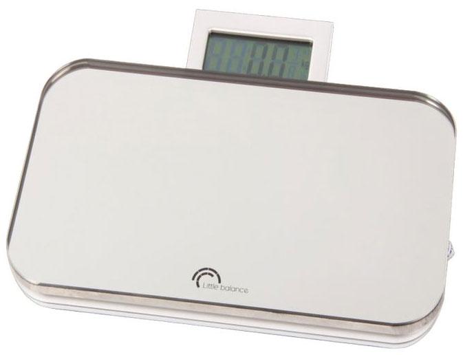 Весы напольные Little balance Nomade, цвет: черный, стальной весы little balance 8029 little
