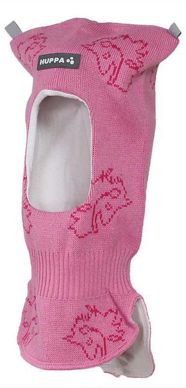 Шапка детская Huppa Selah, цвет: розовый, фуксия. 85140000-70113. Размер XS (43/45)
