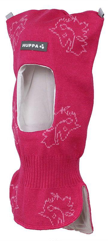 Шапка детская Huppa Selah, цвет: фуксия, розовый. 85140000-70163. Размер XS (43/45)85140000-70163