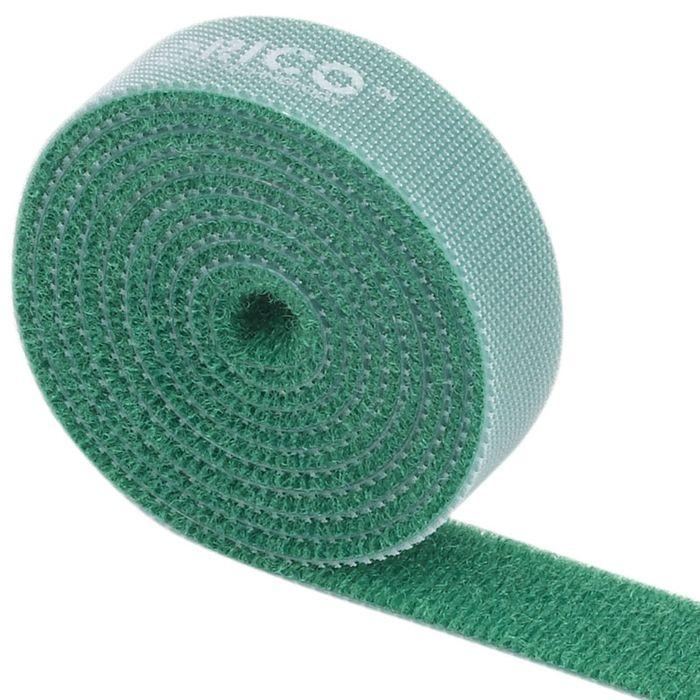 Orico CBT-1S, Green стяжка для кабелейORICO CBT-1S-GRORICO CBT-1S поможет навести порядок среди кабелей как дома, так и в офисе. На одной стороне ORICO CBT-1S находится липучка, а на обратной - поверхность для липучки. Если стяжка окажется слишком длинной, то от неё можно отрезать всё лишнее. Оставшуюся часть можно также использовать для связывания кабелей. Общая длина стяжки составляет 1 метр. ORICO CBT-1S встречается в нескольких цветах: чёрном, оранжевом, жёлтом, красном и зелёном.