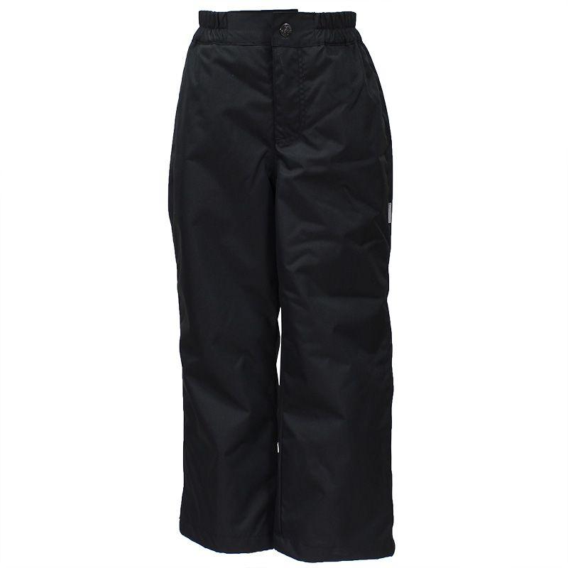 Брюки утепленные детские Huppa Tevin 1, цвет: черный. 21770104-00009. Размер 15221770104-00009Утепленные детские брюки Huppa прямого кроя выполнены из износостойкого полиэстера. Брюки застегиваются на пластиковую молнию и пуговицу. Ткань на талии собрана на внутреннюю резинку.