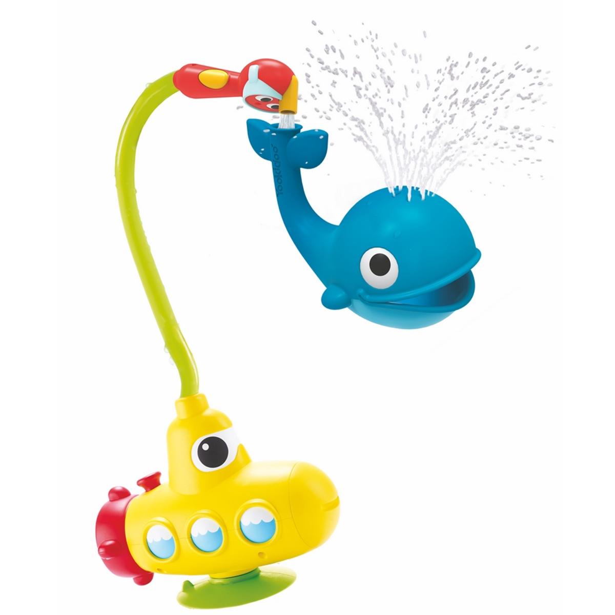 Yookidoo Игрушка-душ для ванной Подводная лодка и Кит подводная лодка подводная лодка f301 угол клапан красоты