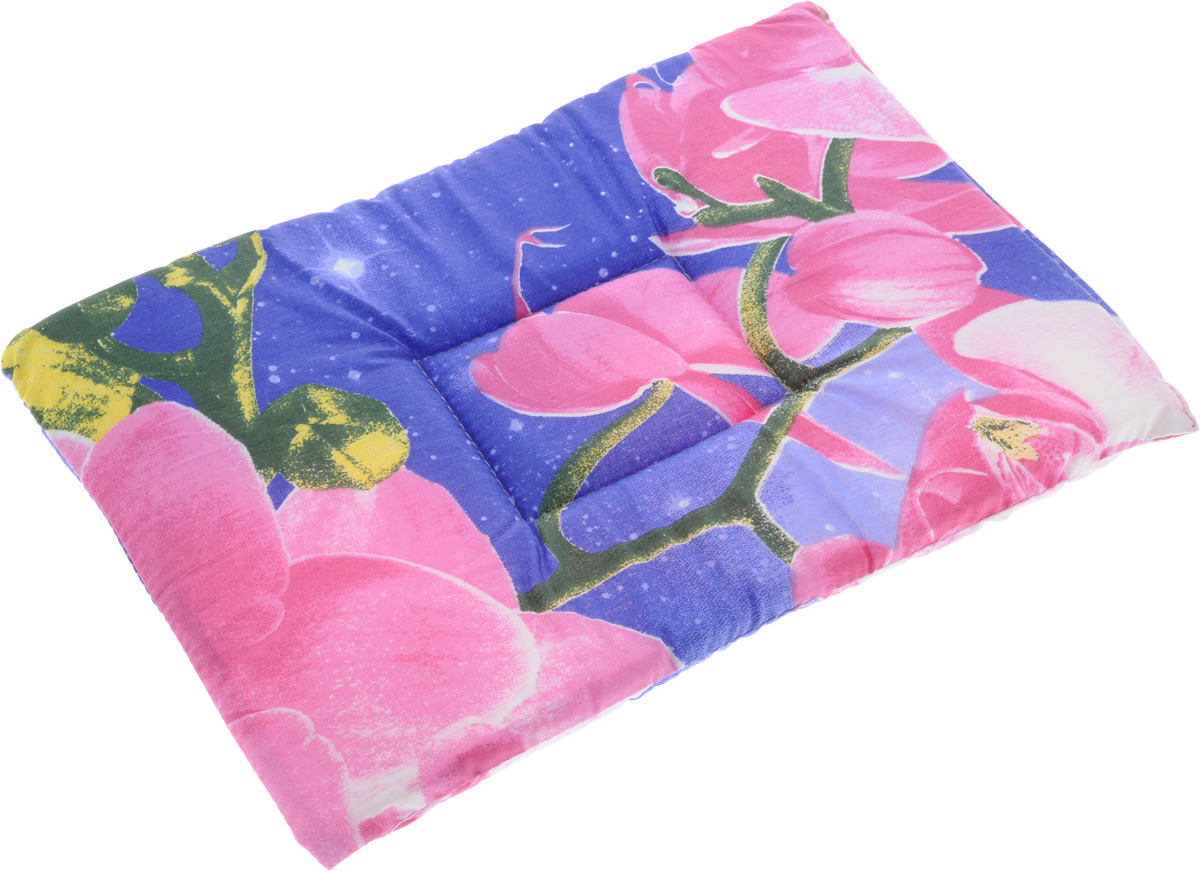 """Лежак для животных Elite Valley """"Матрасик"""", цвет: фиолетовый, розовый, 30 х 45 см. Л-7/2"""