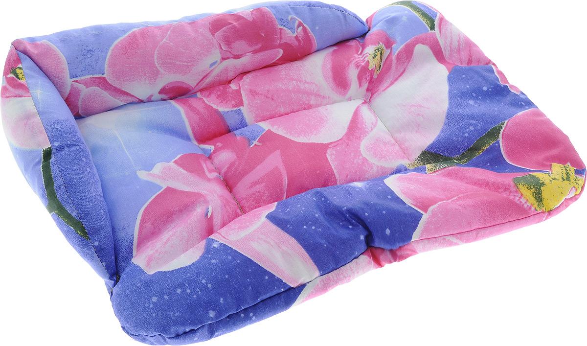 Лежак для животных Elite Valley Софа, цвет: фиолетовый, розовый, 46 х 33 х 11 см. Л-5/1Л-5/1_фиолетовый, розовыйЛежак для животных Elite Valley Софа изготовлен из высококачественной бязи, наполнитель - холлофайбер. Он станет излюбленным местом вашего питомца, подарит ему спокойный и комфортный сон, а также убережет вашу мебель от многочисленной шерсти. На таком лежаке вашему любимцу будет мягко и тепло.