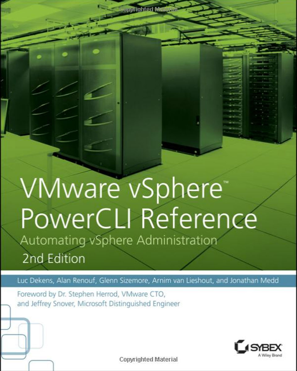 VMware vSphere PowerCLI Reference: Automating vSphere Administration oracle 数据库虚拟化:基于vsphere平台