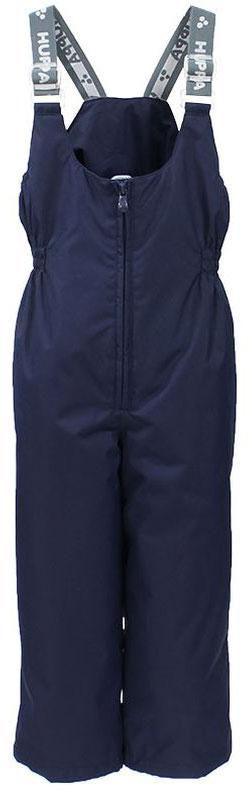 Брюки утепленные детские Huppa Jorma, цвет: темно-синий. 26470010-00086. Размер 9826470010-00086Утепленные детские брюки Huppa Jorma прямого кроя с завышенной грудкой выполнены из износостойкого полиэстера. В качестве подкладки и утеплителя используется качественный полиэстер.Брюки застегиваются на высокую пластиковую молнию, на талии имеется вшитая эластичная резинка. Брюки оснащены несъемными резиновыми подтяжками, длину которых можно регулировать. По низу брючин предусмотрены шнурки-утяжки со стопперами. Изделие дополнено светоотражающими элементами.