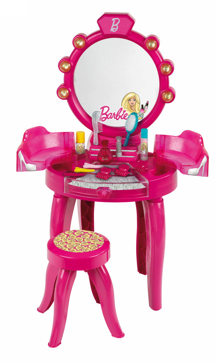 klein игровой набор bosch кухонный центр стайл 18 предметов Klein Игровой набор Студия красоты Барби