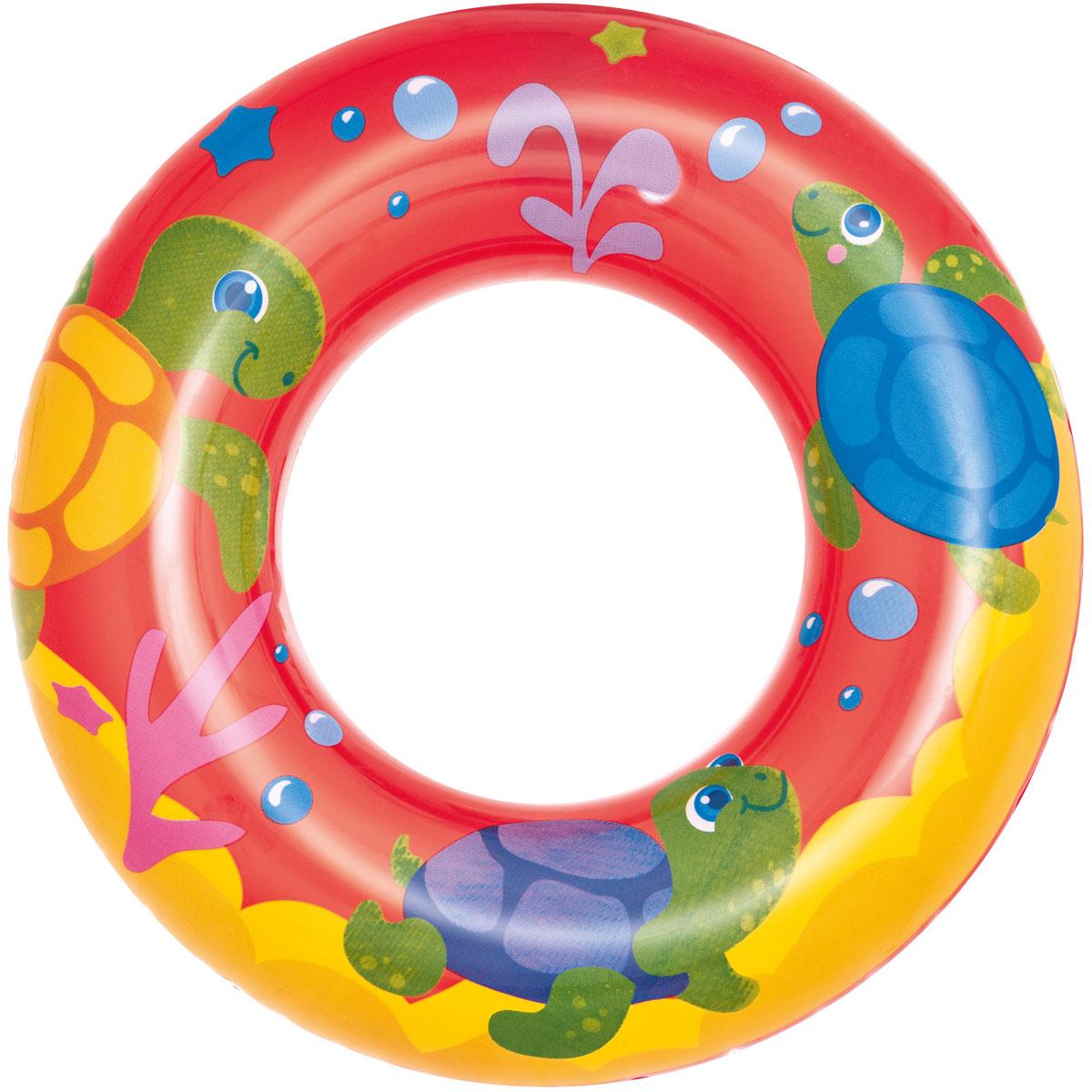Bestway Круг для плавания Морские приключения. Красный куликова е н мини книжки эва кто здесь живёт в деревне