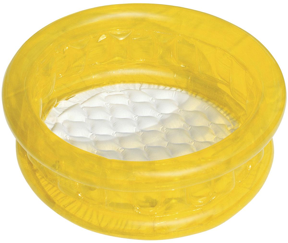 Bestway Бассейн надувной детский, 26 л. Желтый.