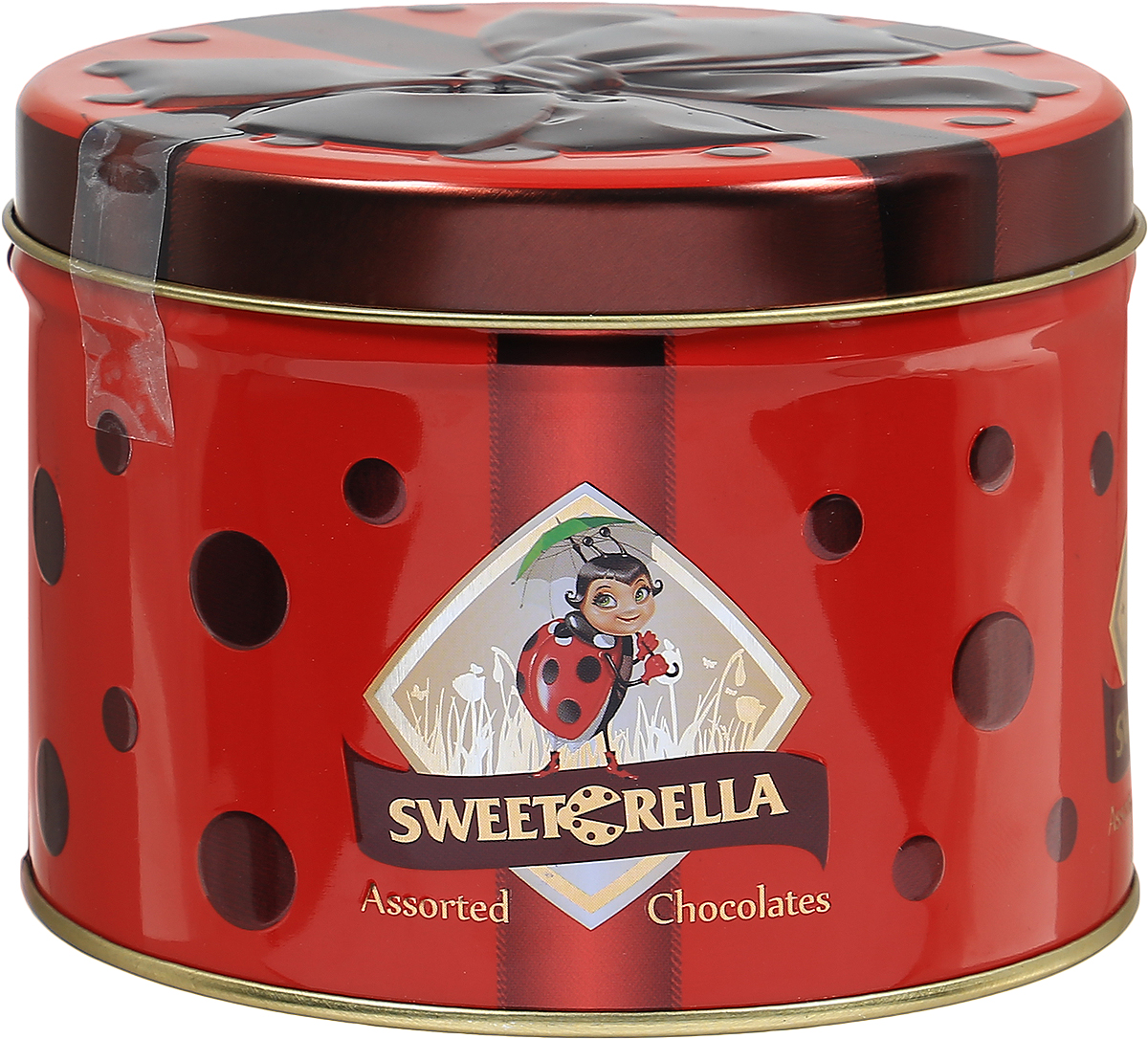 Sweeterella набор шоколадных конфет лепесток желаний, 160 гиба007Весенний набор шоколадных конфет в подарочной жестяной баночке с ярким бордовым бантом. В баночке спрятались конфеты в форме цветов и листиков с нежными перламутровыми оттенками и интересными начинками. Начинки: - виноградная; - апельсиновая; - фисташковая.Уважаемые клиенты! Обращаем ваше внимание, что полный перечень состава продукта представлен на дополнительном изображении.