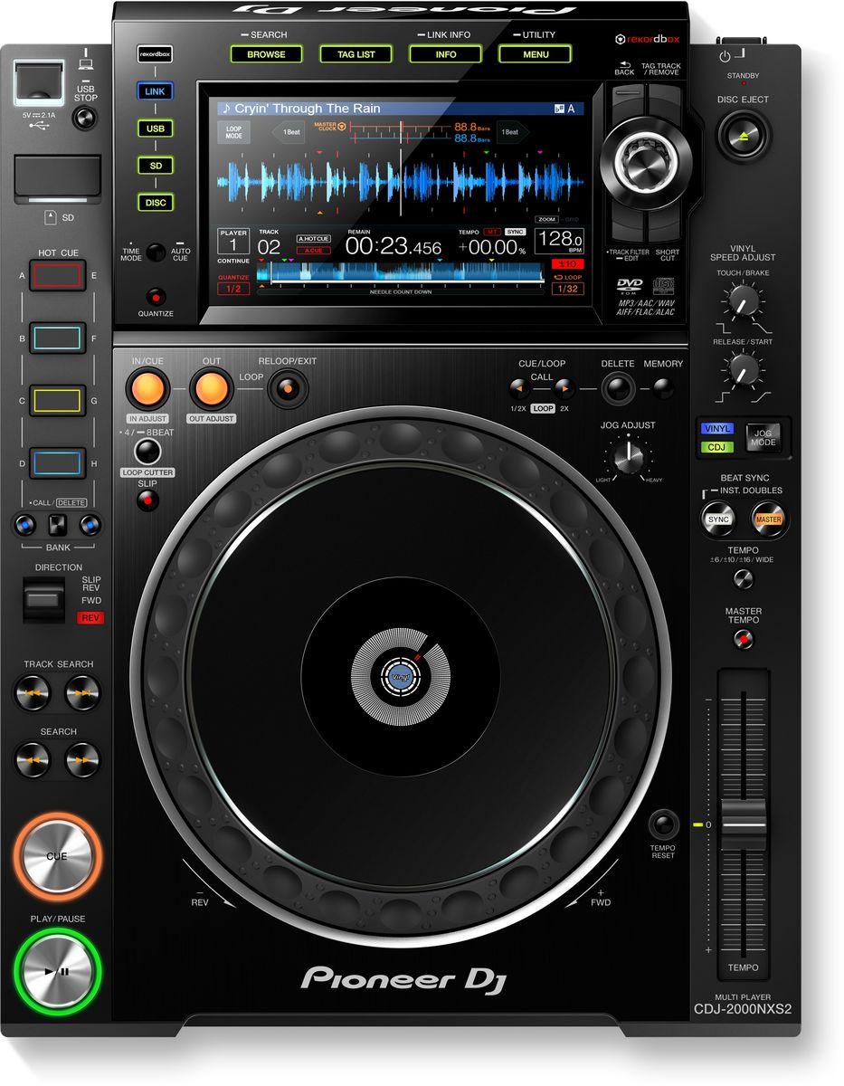 Pioneer CDJ-2000NXS2 DJ проигрыватель для профессиональных диджеев381269