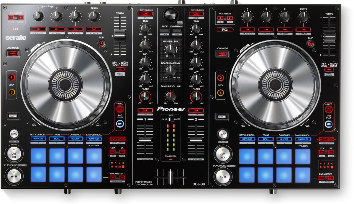 Pioneer DDJ-SR DJ контроллер среднего уровня poe e a the best of edgar allan poe vol 2 эдгар аллан по избранное кн на англ яз