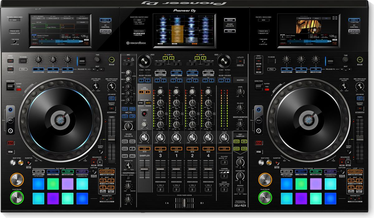Pioneer DDJ-RZX DJ контроллер для профессиональных диджеев bubm professional dj bag for pioneer