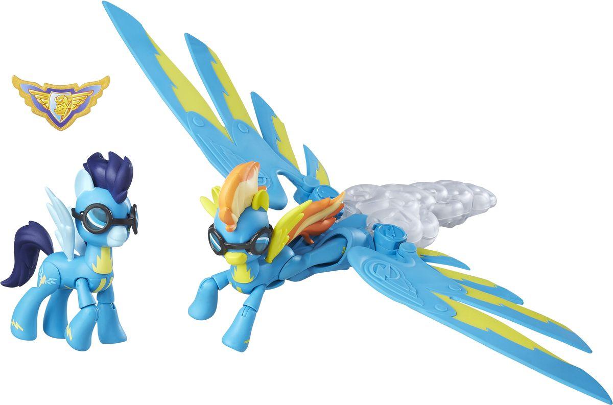 My Little Pony Игровой набор Хранители Гармонии Spitfire & Soarin фигурки игрушки my little pony фигурка хранители гармонии с артикуляцие