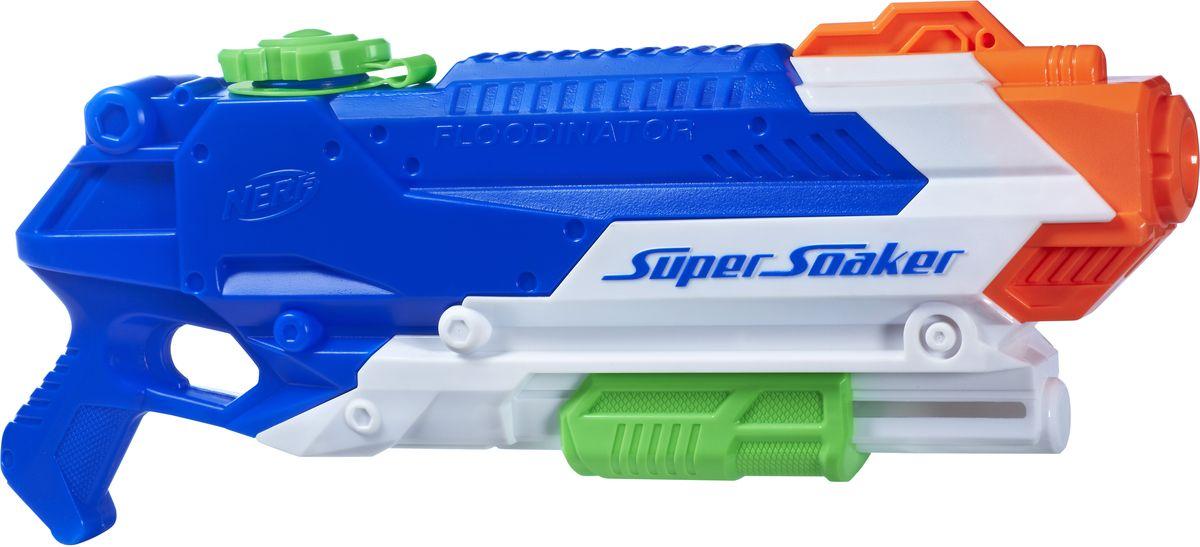 Supersoaker Бластер Флудинатор пулемет бластеры нерф