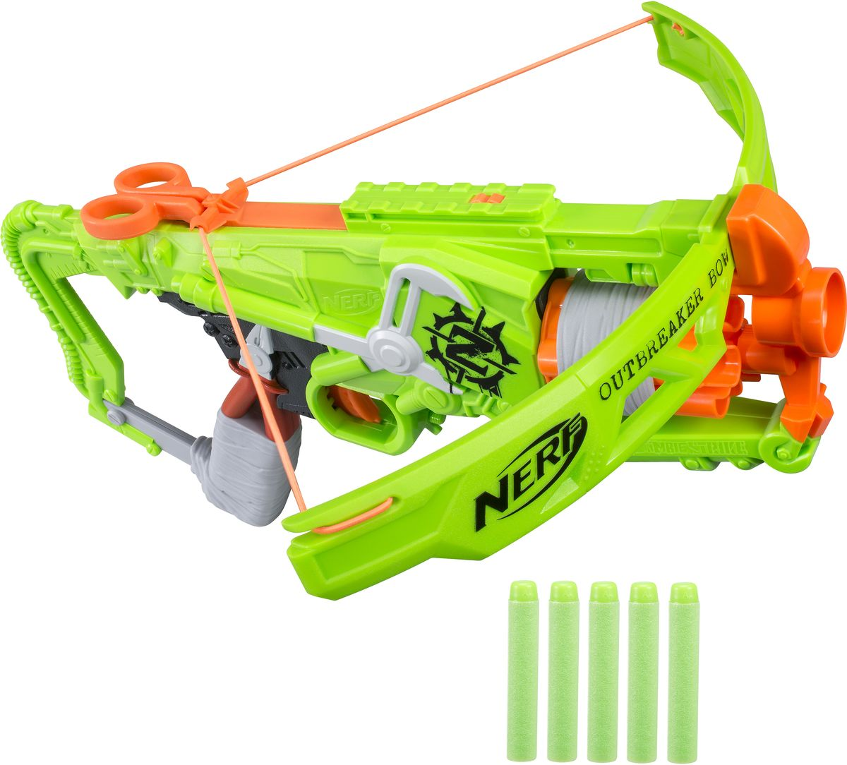 Nerf Бластер Зомби Страйк Аутбрейкер B9093EU6 - Игрушечное оружие