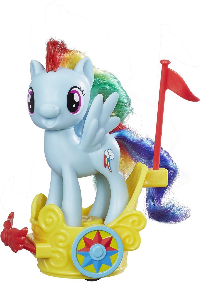 My Little Pony Игровой набор Пони Rainbow Dash в карете my little pony игровой набор design a pony rainbow dash