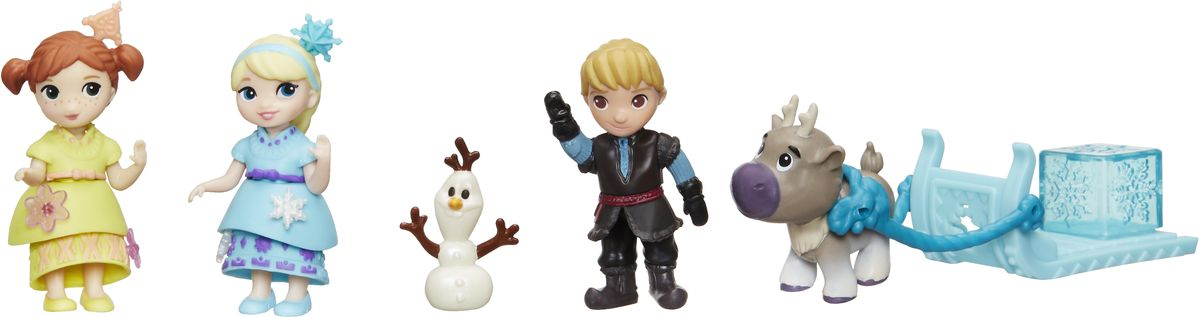 Disney Frozen Набор фигурок Коллекция малышей hasbro набор кукол холодное сердце анна и кристоф
