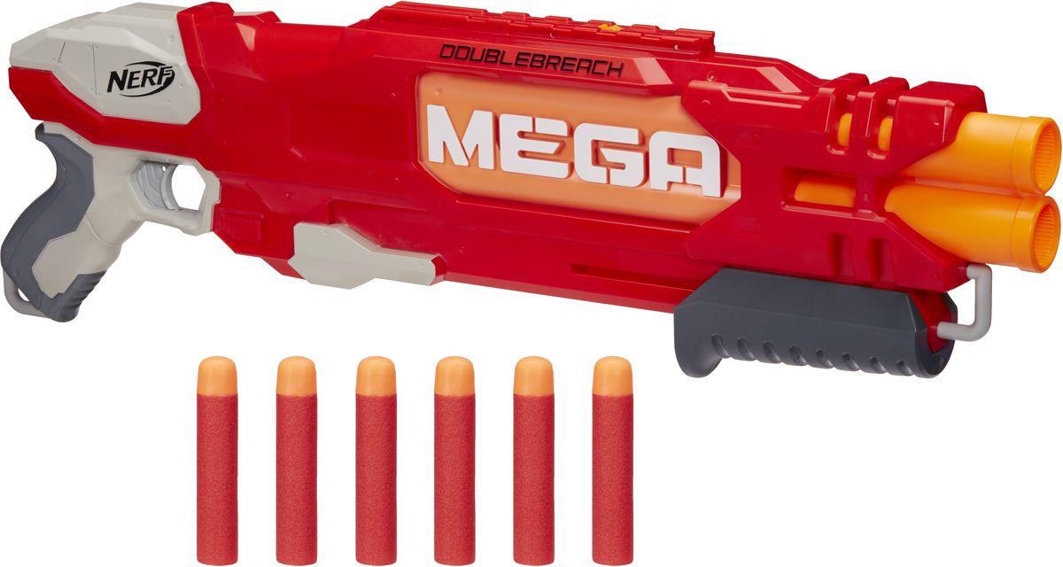 Nerf Бластер Mega Doublebreach - Игрушечное оружие