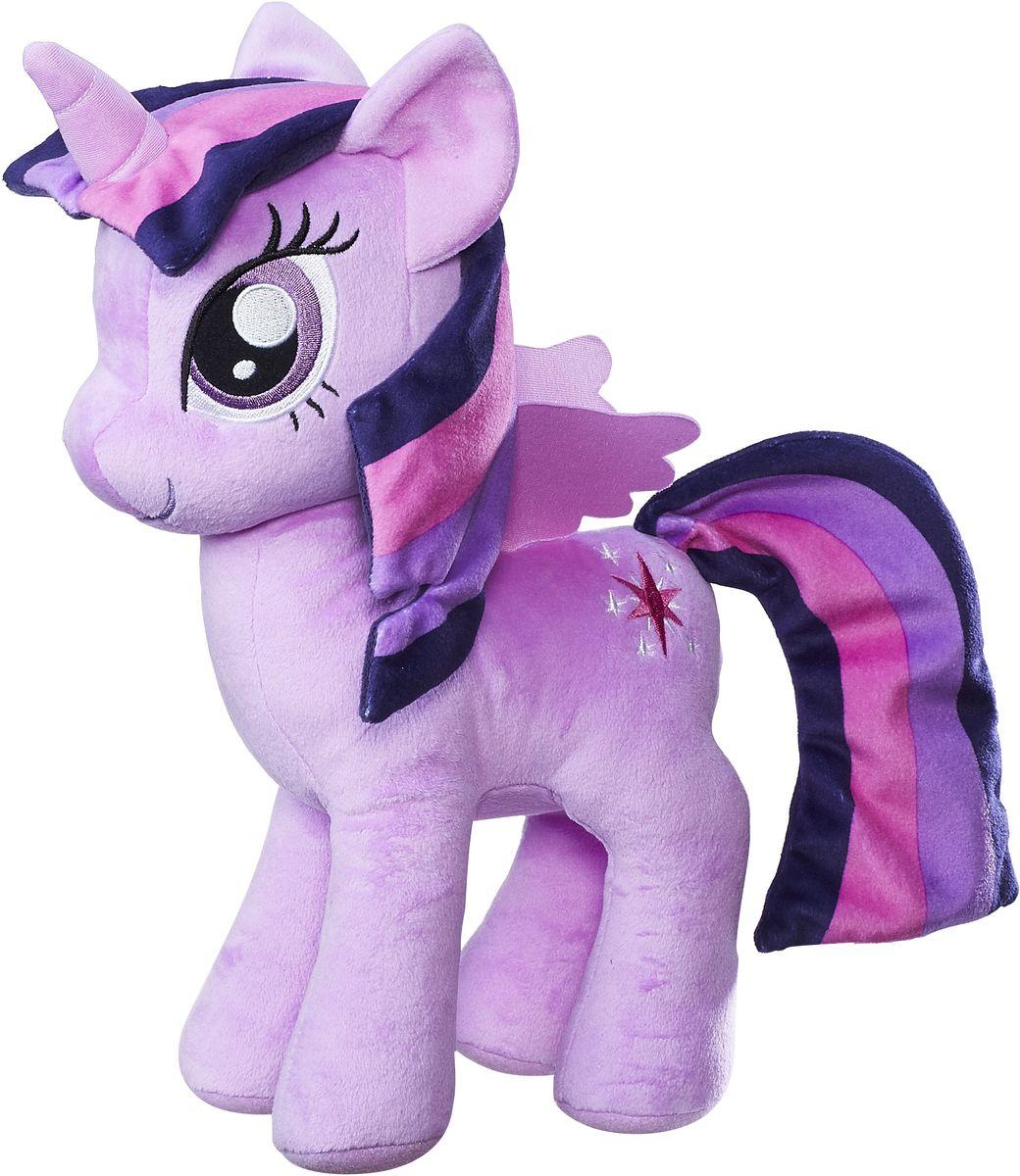 My Little Pony Мягкая игрушка Плюшевые пони Твайлайт Спаркл 30 см интерактивная игрушка my little pony твайлайт спаркл