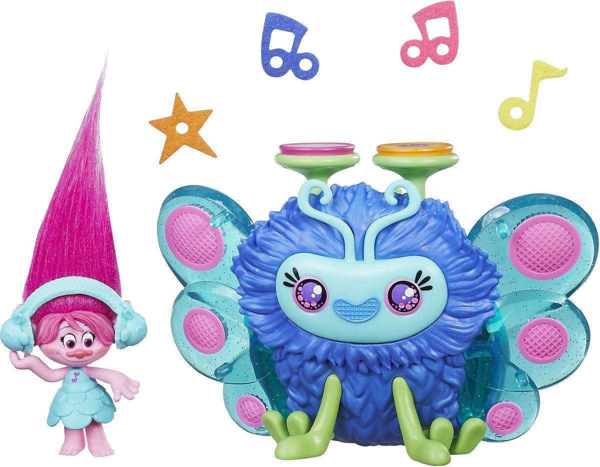 Trolls Игровой набор Розочка и ее Сабвуфер фигурка розочка