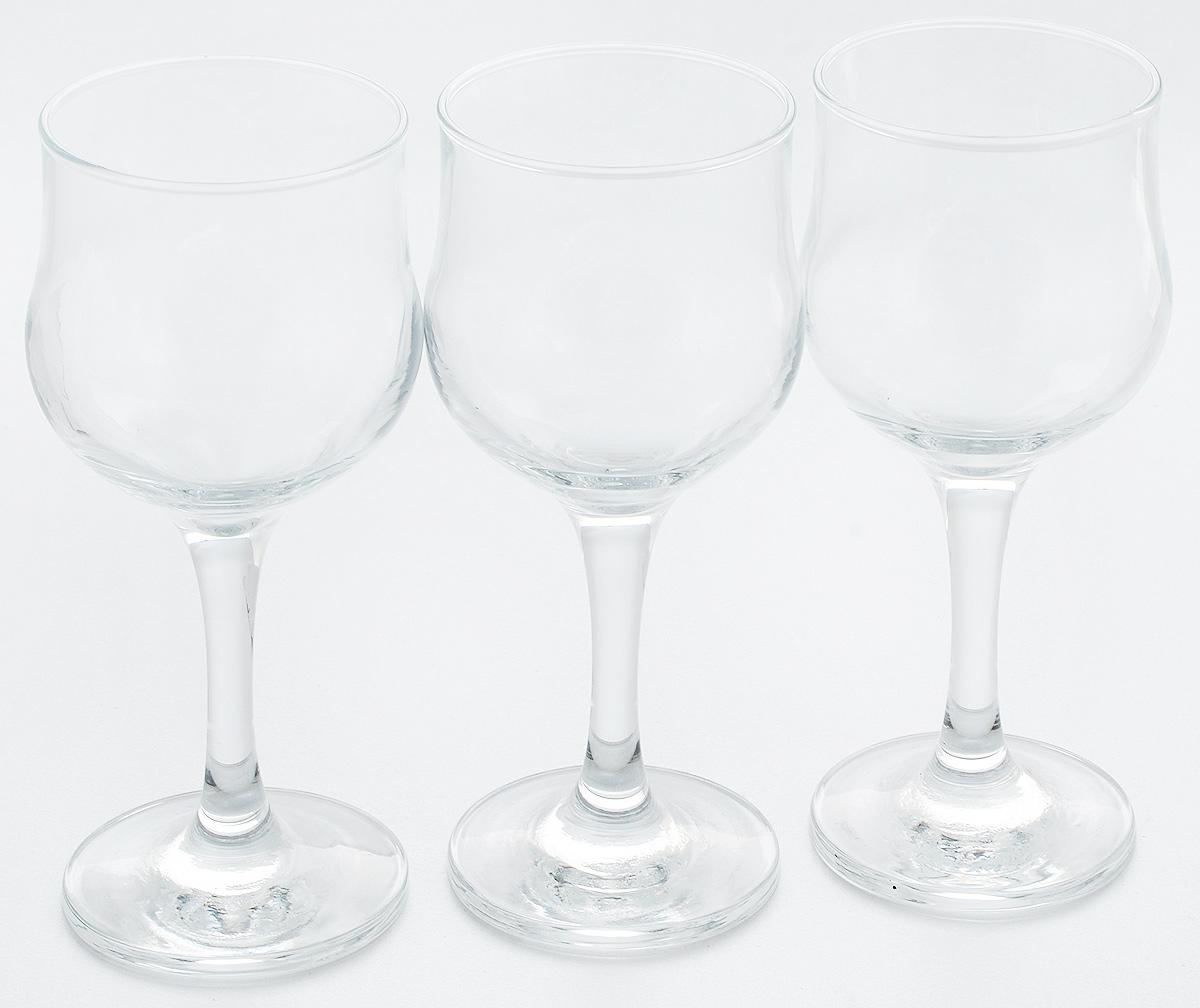 Набор бокалов для белого вина Pasabahce Tulipe, 200 мл, 3 шт44167B/Набор Pasabahce Tulipe состоит из шести бокалов, выполненных из прочного натрий-кальций-силикатного стекла. Бокалы, предназначенные для подачи белого вина, сочетают в себе элегантный дизайн и функциональность. Набор бокалов Pasabahce Tulipe прекрасно оформит праздничный стол и создаст приятную атмосферу за романтическим ужином. Такой набор также станет хорошим подарком к любому случаю. Можно мыть в посудомоечной машине. Диаметр бокала по верхнему краю: 6,5 см. Высота бокала: 15,5 см.