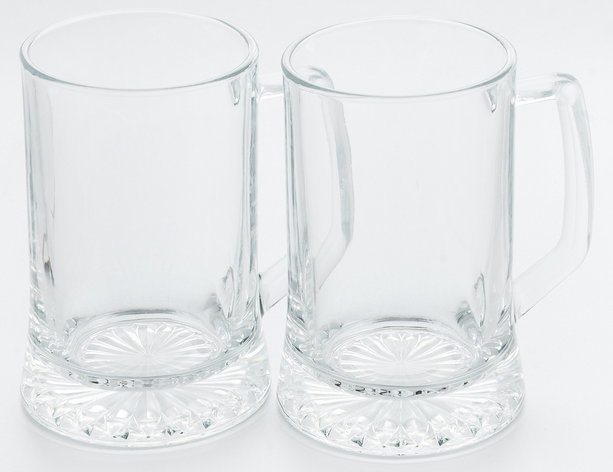 Набор кружек для пива Pasabahce Pub, 670 мл, 2 шт55239BНабор Pasabahce Pub состоит из двух кружек, выполненных из прочного натрий-кальций-силикатного стекла. Кружки оснащены ручками и прекрасно подходят для подачи пива. Функциональность, практичность и стильный дизайн сделают набор прекрасным дополнением к вашей коллекции посуды. Можно мыть в посудомоечной машине и использовать в микроволновой печи до +70°С.