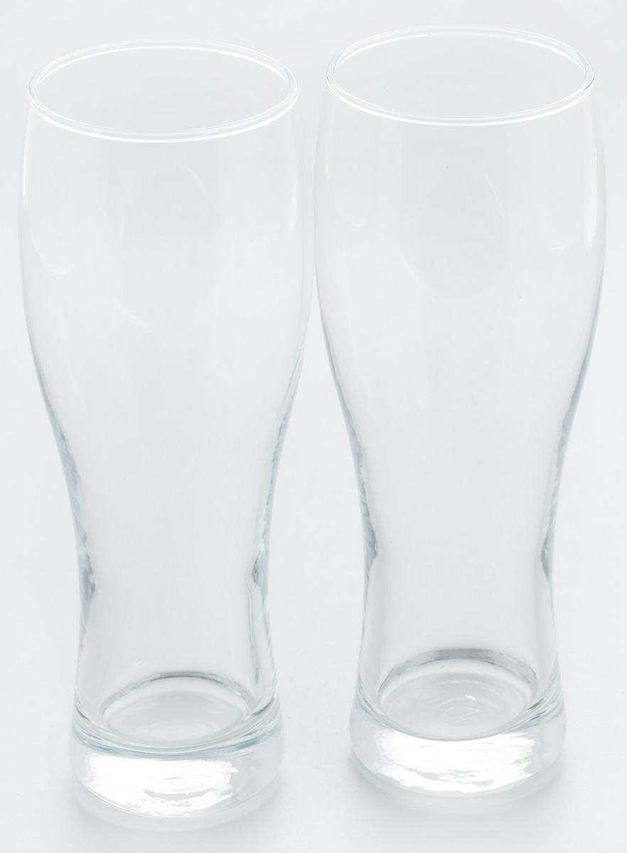 Набор стаканов для пива Pasabahce Pub, 500 мл, 2 шт41792BНабор Pasabahce Pub состоит из двух стаканов, выполненных из прочного натрий-кальций-силикатного стекла. Стаканы, оснащенные утолщенным дном, предназначены для подачи пива. Такой набор прекрасно подойдет для любителей пенного напитка.Можно мыть в посудомоечной машине и использовать в микроволновой печи.Высота стакана: 21,5 см.Диаметр стакана (по верхнему краю): 6,5 см.