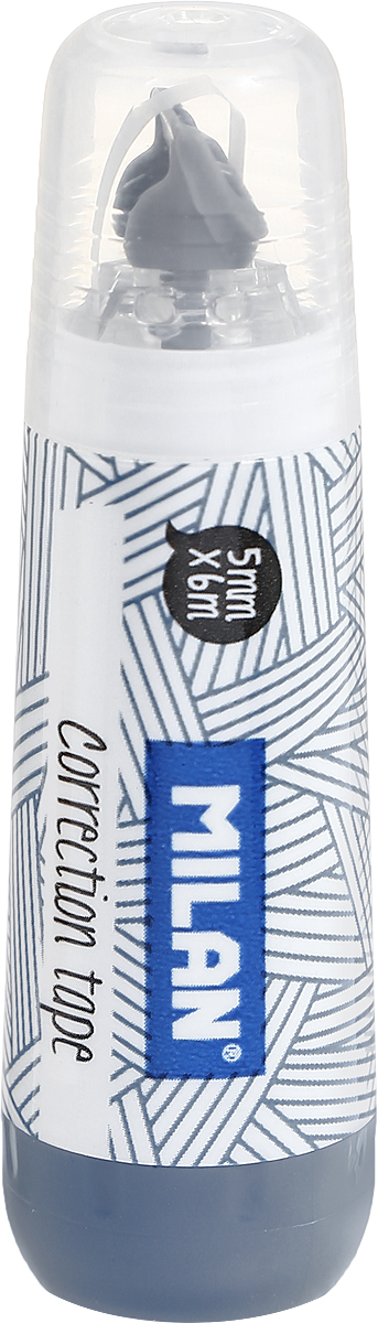 Milan Корректирующая лента цвет серый корректирующая лента auchan 4 2 мм х 8 м
