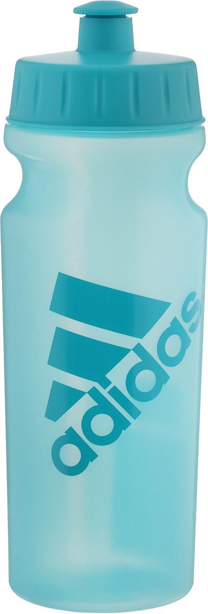 Бутылка для воды Adidas Perf Bottl, цвет: бирюзовый, 500 млBK4031Стильная бутылка для воды Adidas Perf Bottl, изготовленная из 100% литого полиэтилена, оснащена крышкой, которая плотно и герметично закрывается. Широкое отверстие позволяет удобно наливать жидкость и добавлять лед. Бутылка оснащена просто открывающимся и, в то же время, надежным защитным клапаном.Употребление достаточного количества жидкости - важная часть спортивного режима. Благодаря эргономичной форме эту бутылку удобно носить в руках. Компактный дизайн. Подходит к большинству велосипедных холдеров.