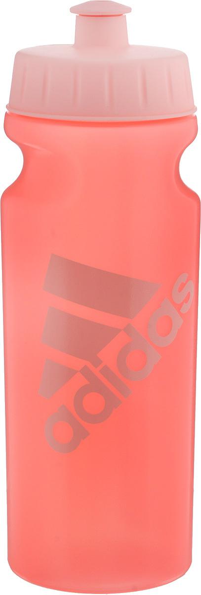 Бутылка для воды Adidas Perf Bottl, цвет: коралловый, 500 млBK4029Стильная бутылка для воды Adidas Perf Bottl, изготовленная из 100% литого полиэтилена, оснащена крышкой, которая плотно и герметично закрывается. Широкое отверстие позволяет удобно наливать жидкость и добавлять лед. Бутылка оснащена просто открывающимся и, в то же время, надежным защитным клапаном.Употребление достаточного количества жидкости - важная часть спортивного режима. Благодаря эргономичной форме эту бутылку удобно носить в руках. Компактный дизайн. Подходит к большинству велосипедных холдеров.
