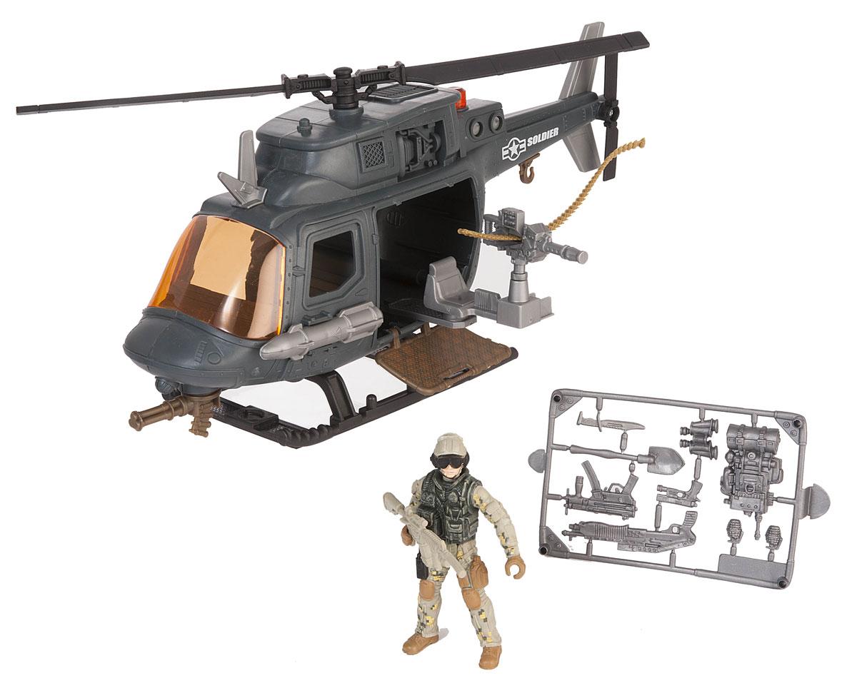 Chap Mei Игровой набор Десантный вертолет игровые наборы игруша игровой набор экстренная служба