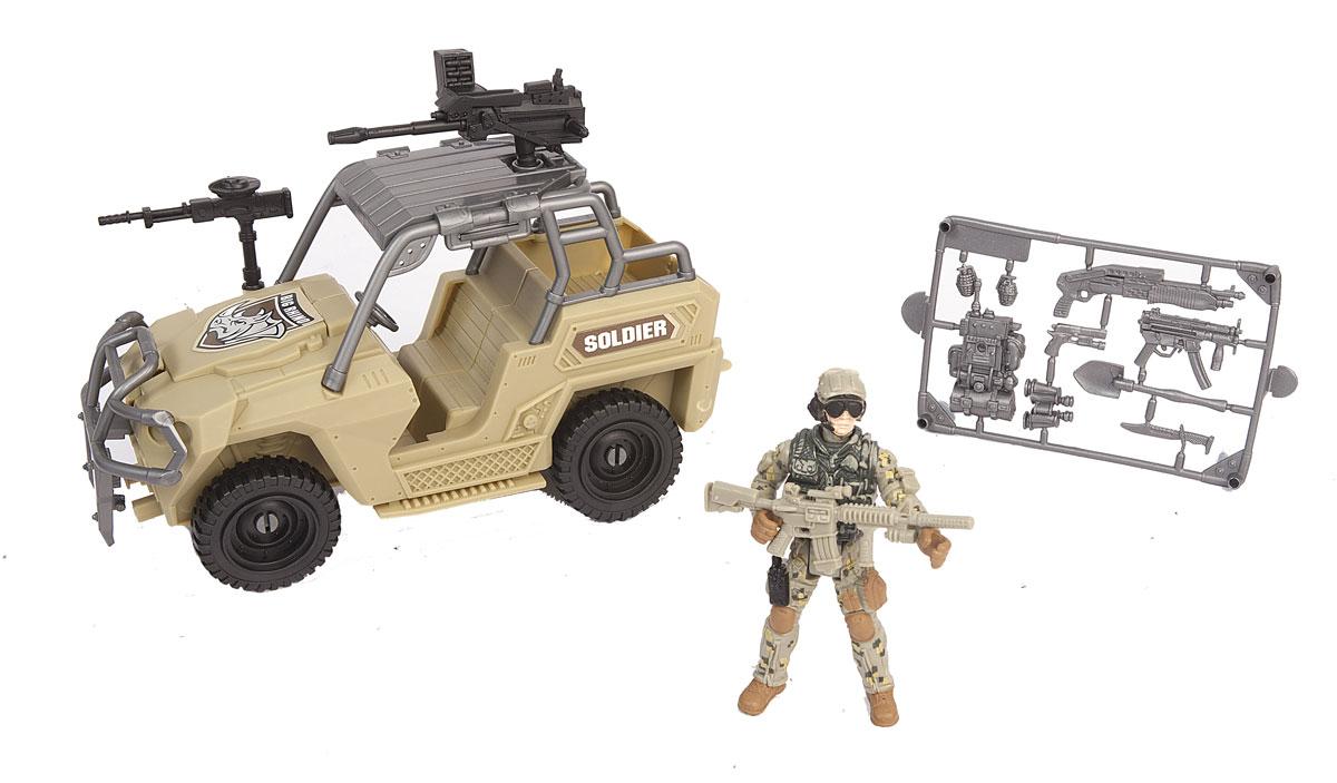 Chap Mei Игровой набор Армейский внедорожник игровые наборы chap mei игровой набор soldier force армейский внедорожник