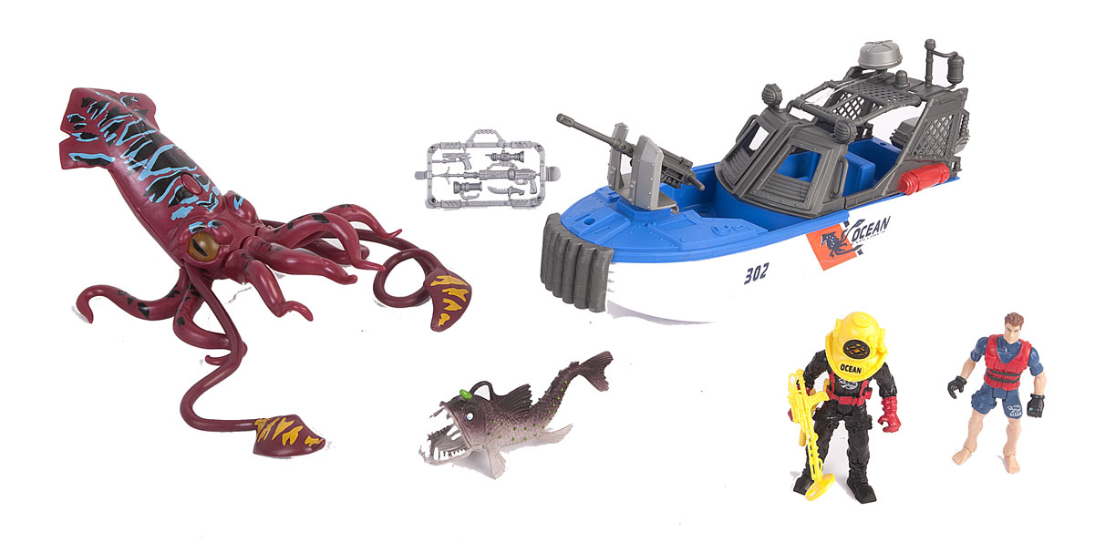 Chap Mei Игровой набор Опасное приключение акванавтов chap mei игровой набор акванавт на скутере