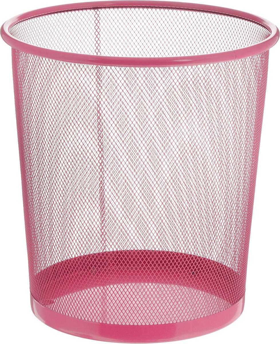 Корзина для мусора Zeller, цвет: розовый, 26 х 26 х 27,8 см17734_розовыйОригинальная корзина для мусора Zeller изготовлена из высококачественного металла. Такое изделие идеально подходит для использования как дома, так и в офисе. Корзина имеет сплошное дно, а стенки изделия оформлены перфорацией в виде сетки.Стильный дизайн и яркая расцветка прекрасно подойдут для любого интерьера. Диаметр (по верхнему краю): 26 см.Высота: 27,8 см.