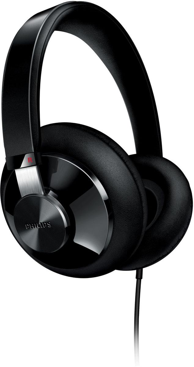 Philips SHP6000/10 наушникиSHP6000/10Наушники Philips SHP6000/10 оснащены излучателями с невероятно мощными басами и саморегулирующимися амбушюрами FloatingCushions. что обеспечивает не только отличное качество звука, но и комфорт при длительном прослушивании.Звук высокого разрешения обеспечивает превосходное качество воспроизведения, которое гораздо ближе к студийному, чем форматы CD 16 бит/44,1 кГц. Благодаря такому безупречному качеству звук высокого разрешения не оставит равнодушным ни одного меломана. Наушники соответствуют строжайшим стандартам качества и сертифицированы для воспроизведения звука высокого разрешения.Конструкция с заушными дужками гарантирует надежную звукоизоляцию. Оголовье с мягкой подкладкой обеспечивают максимальный комфорт при прослушивании музыки.Амбушюры FloatingCushions из мягкого пеноматериала автоматически принимают максимально удобную форму.