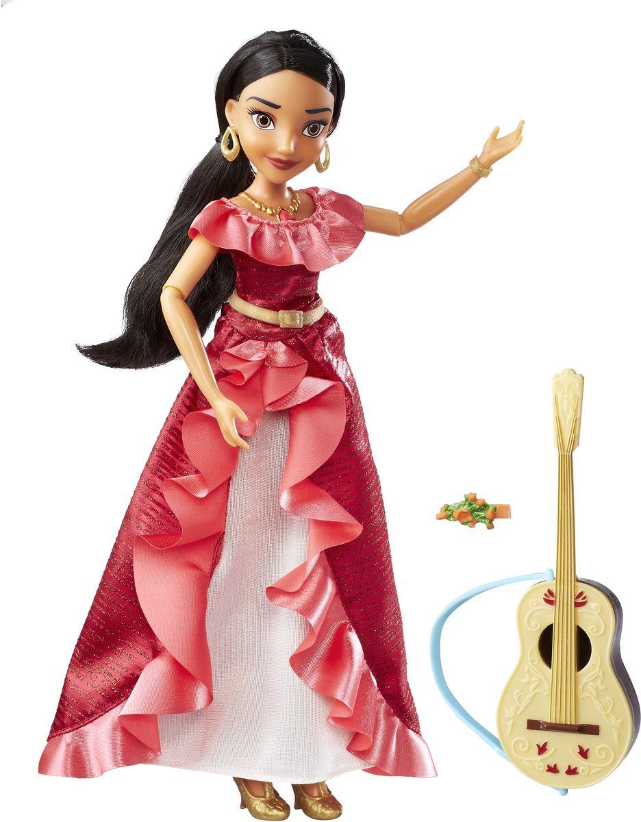 Disney Elena Of Avalor Кукла озвученная Елена с гитарой disney elena of avalor кукла наоми тернер