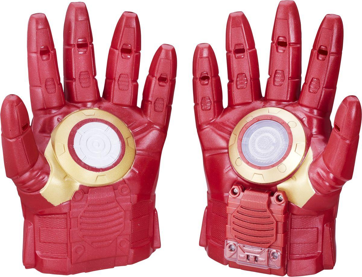 Avengers Перчатки Iron Man 20cm 2017 new avengers toys light rotate iron man hulk pvc action figure model toys brinquedos kids gift original box