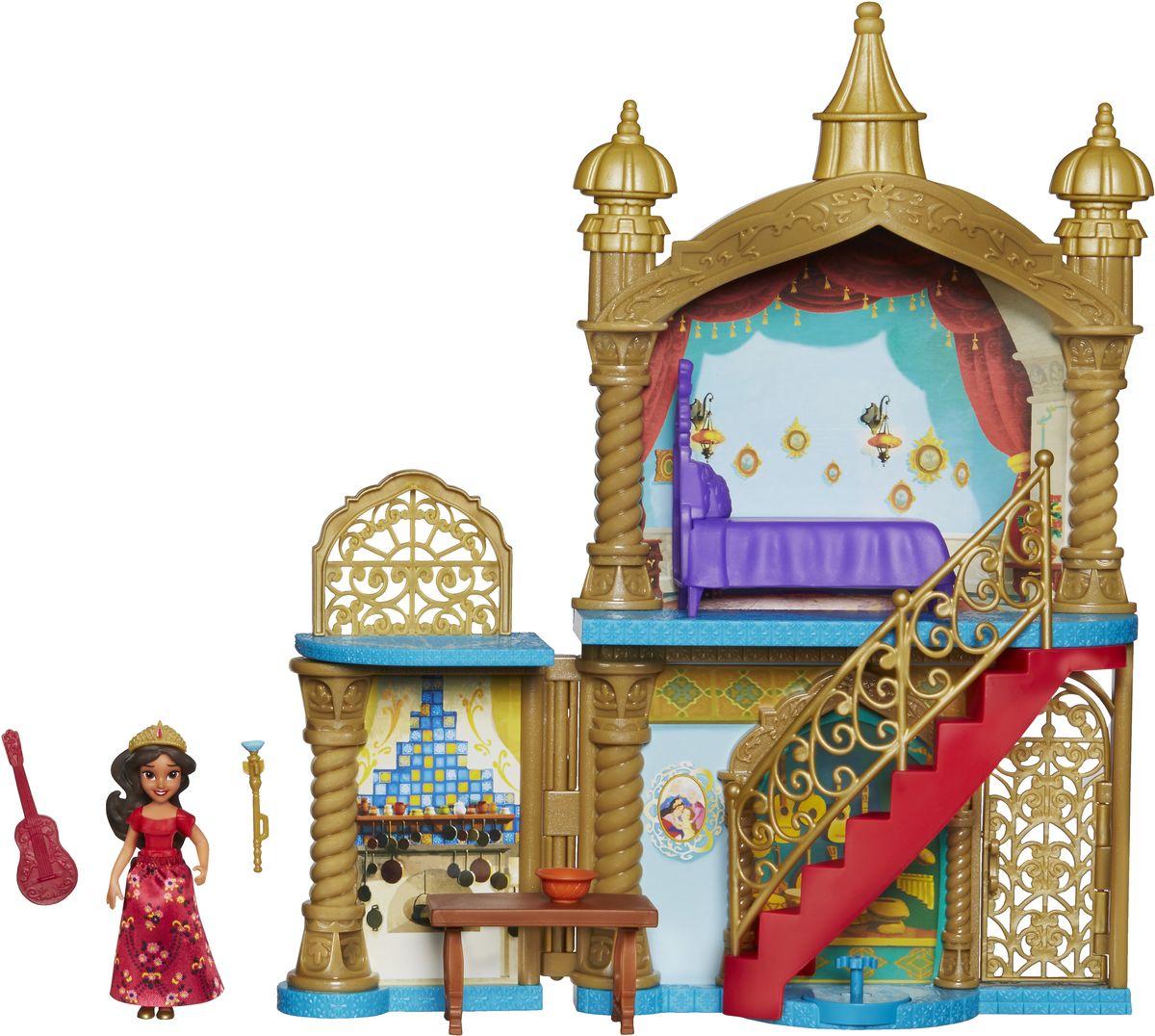Disney Elena Of Avalor Игровой набор с мини-куклой Замок disney elena of avalor кукла наоми тернер