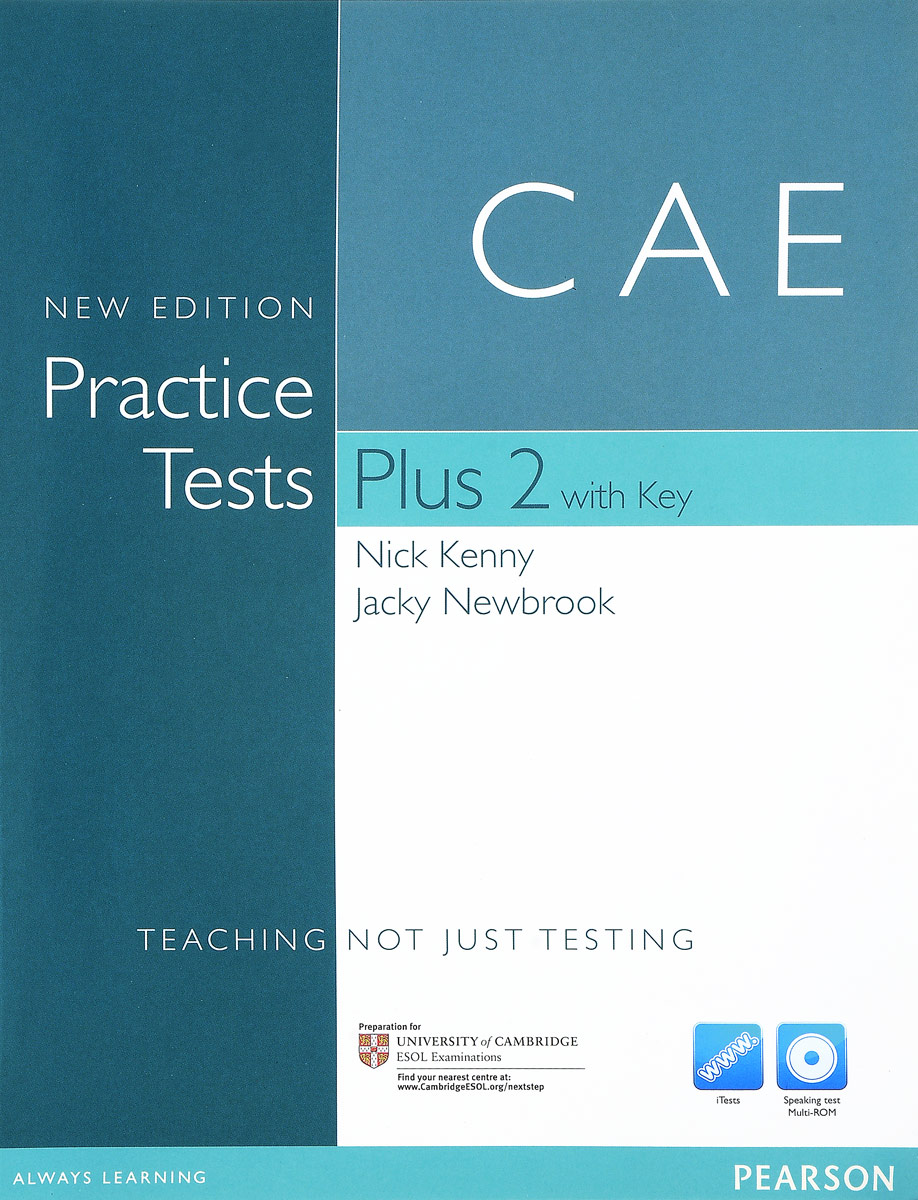 Cambridge English Advanced: Practice Tests Plus 2 with Key (+ CD-ROM)
