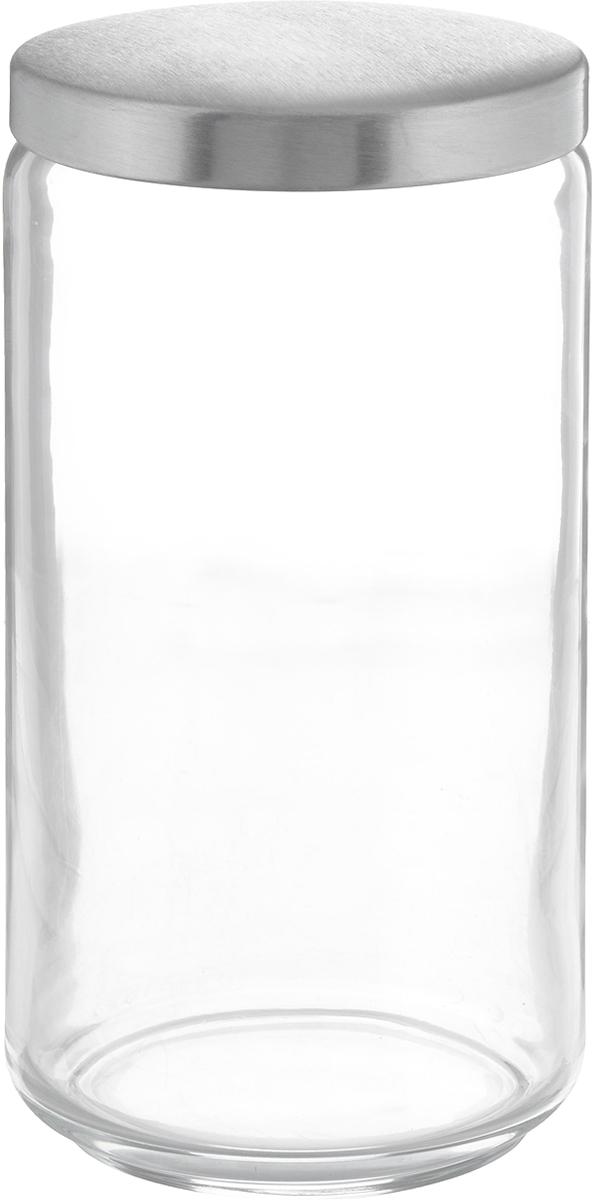 Банка для сыпучих продуктов Luminarc Boxmania, 1,5 л48831Банка Luminarc Boxmania изготовлена из высококачественного стекла. Емкость подходит для хранения сыпучих продуктов: круп, специй, сахара, соли. Она снабжена металлической крышкой, которая плотно и герметично закрывается, дольше сохраняя аромат и свежесть содержимого. Банка Luminarc Boxmania станет полезным приобретением и пригодится на любой кухне.Высота банки (без учета крышки): 20,5 см.Диаметр банки (по верхнему краю): 9,5 см.Объем банки: 1,5 л.