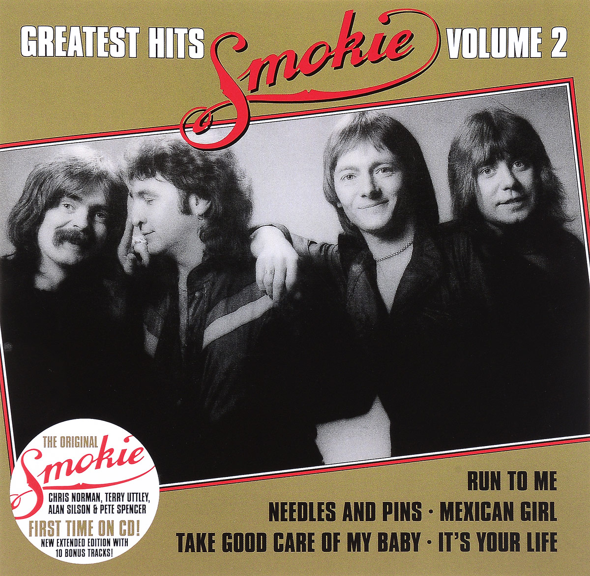 Smokie Smokie. Greatest Hits. Volume 2. Extended Edition smokie smokie pass it around